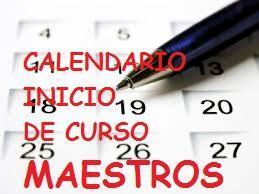 Educaragon Calendario Escolar 2020.Calendario Actuaciones Inicio De Curso Maestros Noticia